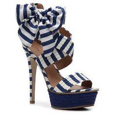Zigi Soho Khloe Striped Sandals - a fresh spin on the beloved nautical stripe