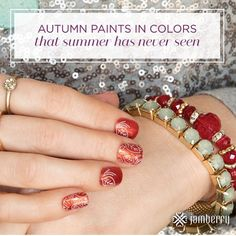 Fall is my absolute favorite season! The perfect weather comfy sweaters and scarves and now I can match my nails to all of it! Shop all 300 designs available online now and make a statement this fall! Only a few more days to order and be entered in my giveaway!  by smljams14