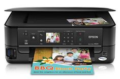 The Epson Stylus has a large flatbed scanner you can utilize to scan flat things and pages from bound books, something you can't make with a page-fed Portable Printer, Printer Driver, Stylus, Epson, Manual, Software, Style, Textbook