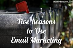 In case you have any doubts about how email marketing can benefit your business, here are five reasons why you should be using email marketing.