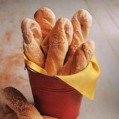 Chewy Sourdough Breadsticks from Land O'Lakes