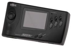 Play your Genesis games on the go with the super rad Sega Nomad! Playstation, Atari Jaguar, Sega Genesis Games, Sega Saturn, Papasan Chair, Gaming Computer, Video Game Console, Videos, Videogames