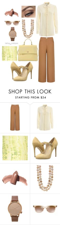 """""""Sin título #101"""" by sousou2578 on Polyvore featuring moda, Uniqlo, Gucci, 7 For All Mankind, Charles by Charles David, Elizabeth Arden, Komono, Oliver Peoples y HUGO"""