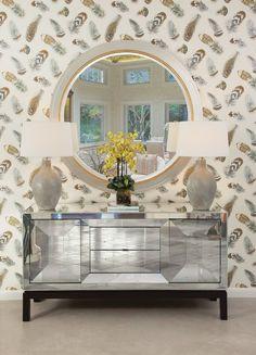 Talia Mirrored Sideboard 32'' H x 62'' W x 18'' D $1060