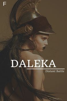 Daleka, meaning Distant Battle, Slavic/Czech names, D baby girl names, D baby na. - Baby Showers Daleka meaning Distant Battle Slavic/Czech names D baby girl names D baby na Female Character Names, Female Names, Strong Baby Names, Unique Baby Names, Unique Names With Meaning, Baby Girl Names, Kid Names, Hispanic Baby Names, Girls Names Vintage