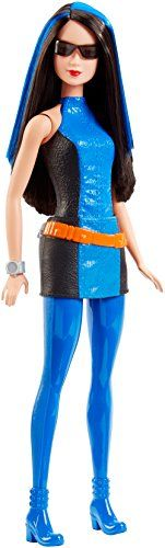 Barbie Spy Squad Renee Doll. Tumble into action with Secret Agent dolls from Barbie Spy Squad and help save the day!. In the action-adventure film, Barbie, a world-class gymnast, is recruited to be a world-class secret agent along with her friends Teresa and Renee. These secret agent dolls sport iconic outfits from the film that capture a clever disguise or a cool spy look. Renee doll is ready for action in her blue color-blocked spy outfit with colorful utility belt and spy sunglasses…