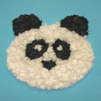 Tissue Paper Panda Bear Craft teaches cutting and pasting and patience to create the finished product. Printable pattern is included with instructions. www.freekidscrafts.com