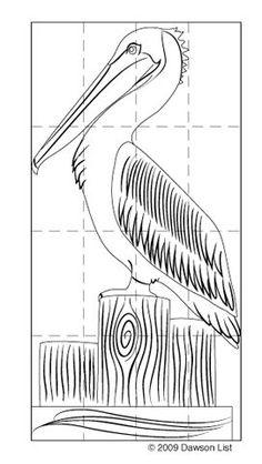 how to draw pumpkin Pelican Drawing, Pelican Art, Bird Drawings, Animal Drawings, Painting & Drawing, Watercolor Paintings, Louisiana Art, Pallet Art, Beach Art
