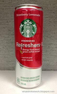 Starbucks Refreshers Strawberry Lemonade Energy Drink