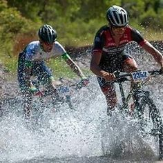 @Regrann from @yotwells - Blasting through the Santa Cruz just outside of Santa Cruz, MX yesterday. What a great race and the 16 water crossings at the end felt sooo good. 📷: Dorian Arellano #Regrann