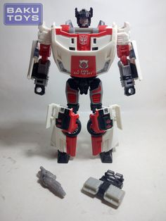 Transformers Generations Red Alert loose