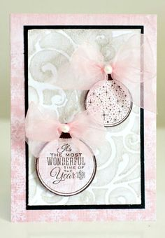 10 DIY Christmas Card Ideas Kaisercraft Silver Bells By Alicia McNamara