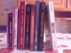 Lot de 10 livres sur Mylène Farmer