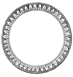 *The Graphics Fairy LLC*: Vintage Clip Art - French Label, Anchor & Round Frame