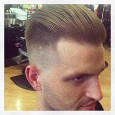 Straight razor bald fade