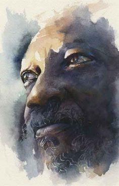 watercolor portrait - Google Search