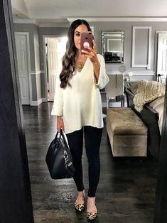 Black & White | Cozy Oversized Knit Sweater