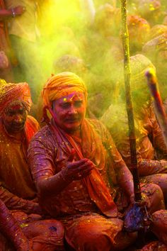 Happy Holi in Nandgaon, India