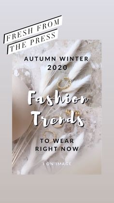 AUTUMN WINTER 2020 FASHION TRENDS TO WEAR RIGHT NOW In this post I proudly present the autumn – winter 2020 fashion trends to wear right now. Following the latest fashion from home made easy by your virtual personal stylist! #fashiontrends #aw2020 Fall Winter, Autumn, 2020 Fashion Trends, Right Now, Personal Stylist, Fashion Stylist, Make It Simple, Latest Fashion, What To Wear