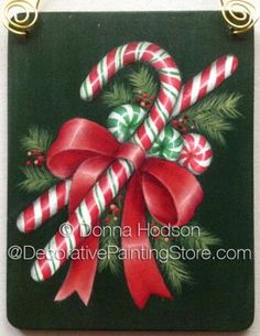 Sweet Treats ePacket by Donna Hodson - PDF DOWNLOAD #paintingepattern #paintingpeppermint