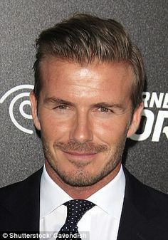 David Beckham revealed that he needs to have everything lined up in a straight line such a...
