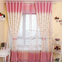 Trying to find a great Blackout Curtain for your Bedroom or Living Room? Need some ideas or inspiration? On this page, I have collected my 7 favorite Blackout Curtains with Pri… Long Shower Curtains, Short Curtains, Voile Curtains, Curtain Fabric, Blackout Curtains, Window Curtains, Boys Bedroom Curtains, Kids Curtains, Rideaux Design