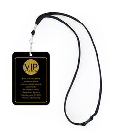 'Chic VIP Pass' by Invitation Consultants