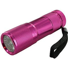 pink flashlight! #flashlight Brought to you by ShopletPromos.com - promotional products for your business.