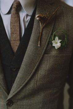 Austin festival inspired wedding at star hill ranch junebug weddings trendy wedding suits men rustic groomsman attire 52 ideas wedding Suit Fashion, Mens Fashion, Fashion Outfits, Wedding Men, Vintage Wedding Suits, Tweed Wedding Suits, Vintage Groom, Star Wedding, Wedding Groom Attire