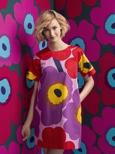 Miku dress #Marimekko #MarimekkoSS14