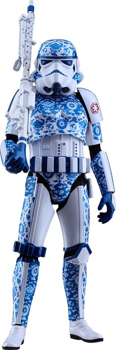 Stormtrooper (Porcelain Pattern Version) Sixth-Scale Figure