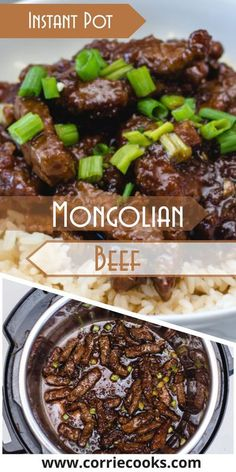 Today I�ll tell you one of my favorite recipes: Instant Pot Mongolian Beef. Of course, I adapted the recipe for my pressure cooker, which means less time spent in the kitchen and more time spent enjoying the dinner !