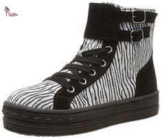 MOD8 Gertrude, Sneakers Hautes fille, Noir (81), 29 EU - Chaussures mod8 (*Partner-Link)