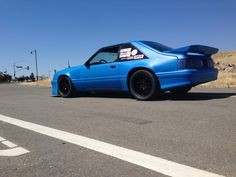 Rob's wide body aero fox mustang build thread - Page 5 - Corner-Carvers Forums Blue Mustang, Fox Body Mustang, Picture Mix, Ford Lincoln Mercury, Pony Car, Wide Body, Henry Ford, Future Car, Car Stuff