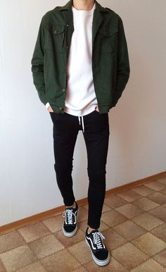 Swag Outfits Men, Stylish Mens Outfits, Vans Outfit Men, Casual Guy Outfits, Boy Outfits, Vans Men, Fashion Outfits, Hipster Outfits Men, Black Outfit Men