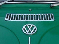 Logo Aircooled VW Beatle ( Kever ) 1968 , before restoration.