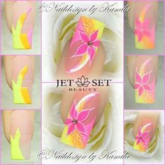 JET SET TUTORIAL NAIL ART