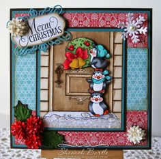 Hi Everyone! Its Shannah here today to share some Whimsy Inspiration with you! For this card I...
