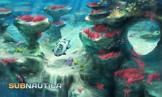 No underwater game would be complete without a Coral Reef! http://unknownworlds.com/subnautica/subnautica-concept-art-coral-reef-3/