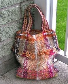 Ravelry: LaEmma's One more bag (with handspun)