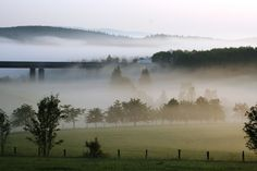 LKW im Nebel
