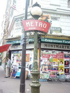 The Metro Station of Montemarte, Paris