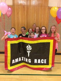 Kayboo Creations: Amazing Race Party