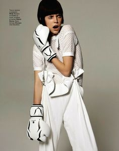 mathilda tolvanen by stratis for grazia france 5th july 2013 #rs