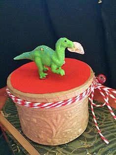 Dinosaur Valentines Box, Round Box, Valentines For Guys, Candy Box, Jewelry  Box