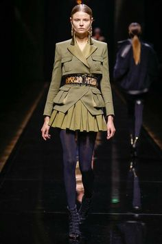 Magdalena - Balmain | Fall 2014 Ready-to-Wear Collection | Style.com