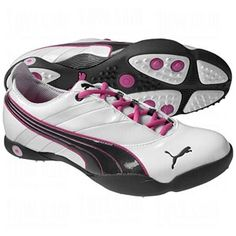 100% authentic 62760 d0c4f Great Or are these my golf shoes Puma Ladies Sunny Athletic Golf Shoes  WhiteDk Shad