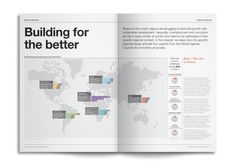 World Economic Forum: Outlook on the Global Agenda 2014 by Human After All, via Behance