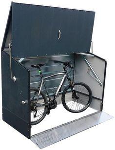 Outdoor Bike Storage, Outdoor Decor, Bicycles, Steel