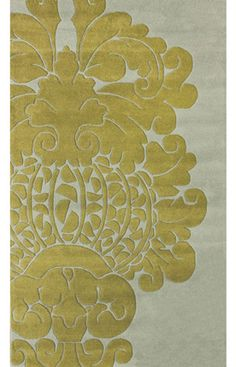 High Quality Modern Damask Rug From RugsUSA For The Dining Room
